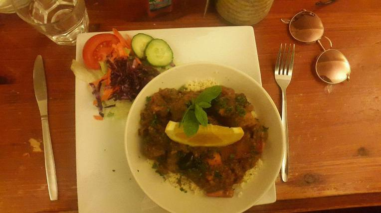 Tagine L'Algerienne at the Rainbow Cafe